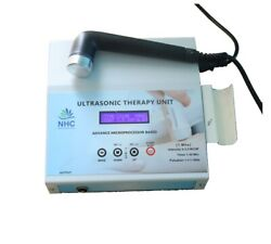 Ultrasound Therapy Unit 1 Mhz New Smart Advanced Lcd Display Physiotherapy Best