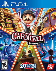 Carnival Games Ps4 Sony Playstation 4 2008 Brand New - Region Free