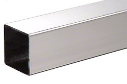 Crl Hrs15ps98 Polished Stainless 1-1/2 Square Tubing - 95