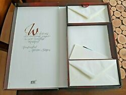 Very Rare Stationery Paper W/official Logo Free Shipping