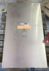 Siemens Disconnect 400 Amp 600 Volt Stainless 4x Non Fused