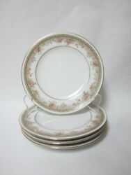 4 - Noritake Morning Jewel Bread And Butter Plates - 6 1/4