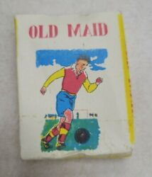 Miniature Deck Of Old Maid Cards Hong Kong Instruction Card Vintage