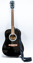 Maestro By Gibson Black Model Sa41bkch Acoustic 6 String Guitar - No Case