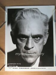 The Man With Nine Lives 1940 Columbia Pictures Photograph Of Boris Karloff
