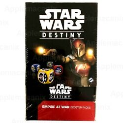 Star Wars Destiny Empire At War Booster Box Ffg 36 Game Packs Eng Factory Sealed