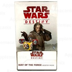 Star Wars Destiny Way Of The Force Booster Box Ffg 36 Game Packs English Sealed