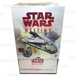 Star Wars Destiny Across The Galaxy Booster Box Ffg 36 Game Packs English Sealed