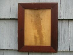Nice Antique 19th-century Walnut Wood Picture Frame Fits 10-1/2 X 14