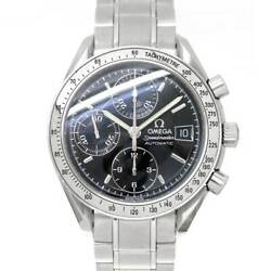 Omega Speedmaster Date 3513.50 Chronograph Automatic Black Dial Mens 90121301