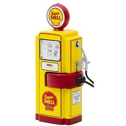 Greenlight Series 8 Gas Pumps Set Of 3 Super Shell Phillips 66 Fire Chief 118