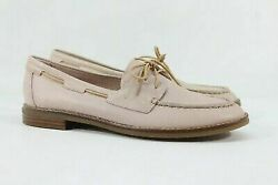 Sperry Top-sider Seaport Womenand039s Blush Boat Shoe 7m Sprry1118