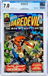 Daredevil 19 1966 Cgc 7.0, 2nd Appearance Of Gladiator
