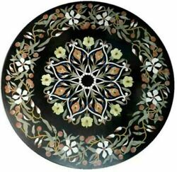2and039x2and039 Table Marble Inlay Top Pietra Dura Home Antique Coffee Dining Decor B101