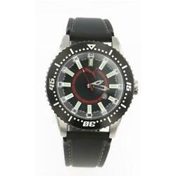 Menand039s Take Pole Position Black Stainless Steel Quartz Watch Pu102031