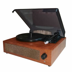 Mini Bluetooth Record Player 3-speed Vintage Classic Turntable Phonograph E6z8