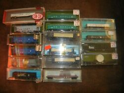 Atlas And Others - N Scale - Lot Of 16 Freight Cars