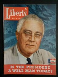 Liberty Magazine 1941 December 13 Is President Roosevelt A Well Man Today
