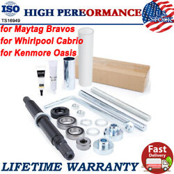 Washer Shaft Bearing Kit And Tool For Maytag Bravos Whirlpool Cabrio Kenmore Oasis
