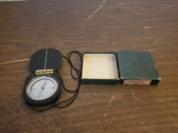 Vintage Forestry Compass 5600x Keuffel And Esser With Box