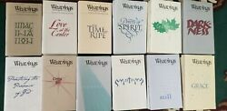 Huge Lot 72 Issued Weavings Journal Of The Christian Spiritual Life And03997-2008 Vg