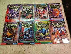 Give Yourself Goosebumps Special Edition 1-8 R.l. Stine Complete Set Very Rare