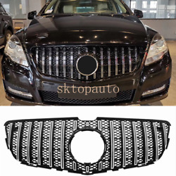For Benz R Class W251 Gt R Grille 2010-2017 R350 Silver Gt Mesh Grill Facelift