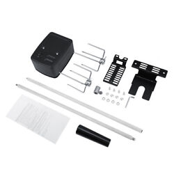 Universal Barbecue Stainless Steel Spit Rod Meat Forks With Electric Motor Kit
