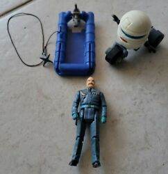 Mask Kenner T-bob Robot M.a.s.k. With Figure And Raft Motor Boat Vehicle W Anchor