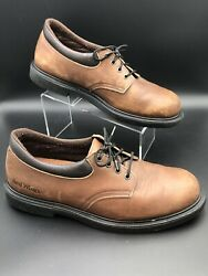 Red Wing Mens Brown Sz 14 D Oxford Style 105 Work Casual Shoe Low Boots Soft Toe