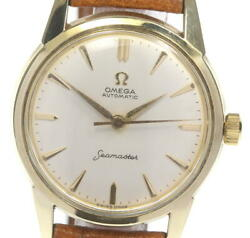 Omega Seamaster 14704 Cal.591 Antique Ivory Dial Automatic Menand039s Watch_604344
