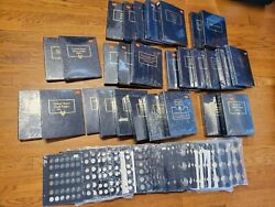 Massive Whitman Coin Album Lot Folder Pages New Penny Quarter Dollar Nickel
