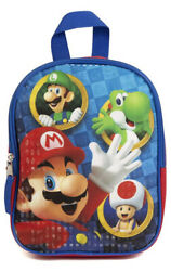 Super Mario Mini Backpack for Kids amp; Toddlers 10 Inch $11.99