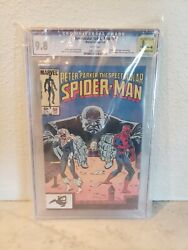 Spectacular Spider-man 98 Cgc 9.8 White Pages