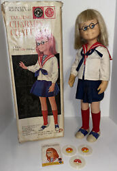 Charmin' Chatty Mattel 1962 Talking Doll And Box W/ 3 Records Works Sort Of