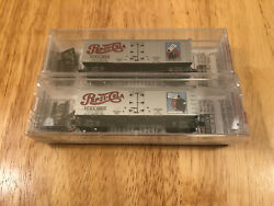 Micro Trains 58570 And 58580 Pepsi Cola 58012 And 58013 N Scale Ice Reefer 2-pack