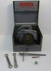 Vintage Porter Cable Rockwell Circular Saw 7 Inch Model 170 With Case