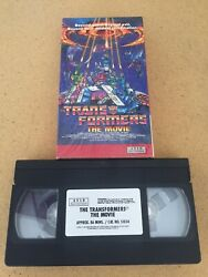 Transformers The Movie Vhs 1991 Avid Home Entertainment