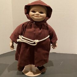 Goebel Monk Friar Tuck Musical Doll 125th Anniversary Religious Limited 289/600