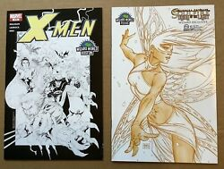 Lot Of 2 Wizard World Variants 2005 X-men 175 Boston And Soulfire 3 Texas