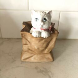 1991 Cat In A Bag The San Francisco Music Box Company You Light Up My Life