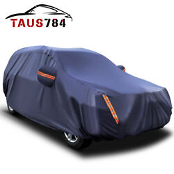 17ft Universal Suv Fit Full Car Cover Waterproof All Weather Resistant Shelter