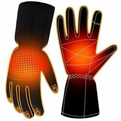 Battery Gloves Electric Heated Gloves For Women Men,touchscreen Texting Water-re