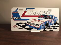 1984 Terry Labonte Nascar Racing Champion Metal Booster License Plate