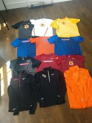 Lot 12 Ncaa Nike Running Shirt Track Field Pullover Zip Team Issue Rare All Size