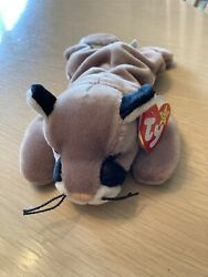 Ty Beanie Baby Canyon Cat Cougar Mountain Lion 8 Inch 1998 Plush Toy-retired