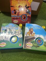 Lot 3 Mattel See And039n Say 101 Dalmatians Lion King And Pauper