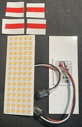 Gm Truck 73-80 Chevrolet Chevy Truck C10 Front Turn Signal Yellow Led Boards New