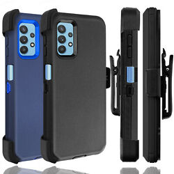 For Samsung Galaxy A32 5G Case Holster Belt Clip Stand Shockproof Hybrid Cover