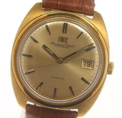 Schaffhausen Antique Date Cal.8541b Gold Dial Automatic Menand039s Watch_601208